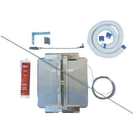 HY-C UD1313 Stainless Steel Universal Chimney Cover Damper Kit (13 on electric dampers wiring, vent damper reset, vent damper operation, vent damper oil, gas valve wiring, heat pump disconnect wiring, vent damper motor, vent damper design,