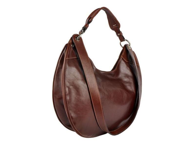 a84a7e3c093 Bruine ronde handgemaakte schoudertas maar ook als handtas te gebruiken.  #sale #tas #