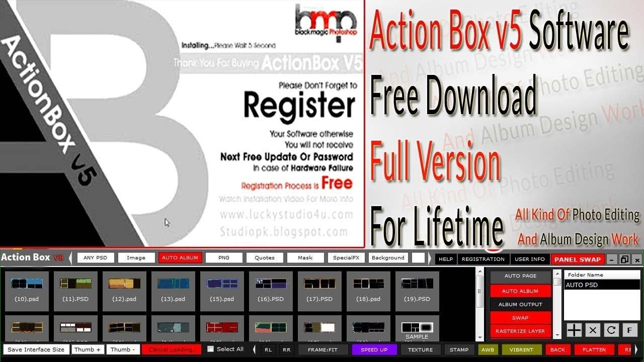 Action Box v5 Software Free Download Full Version For