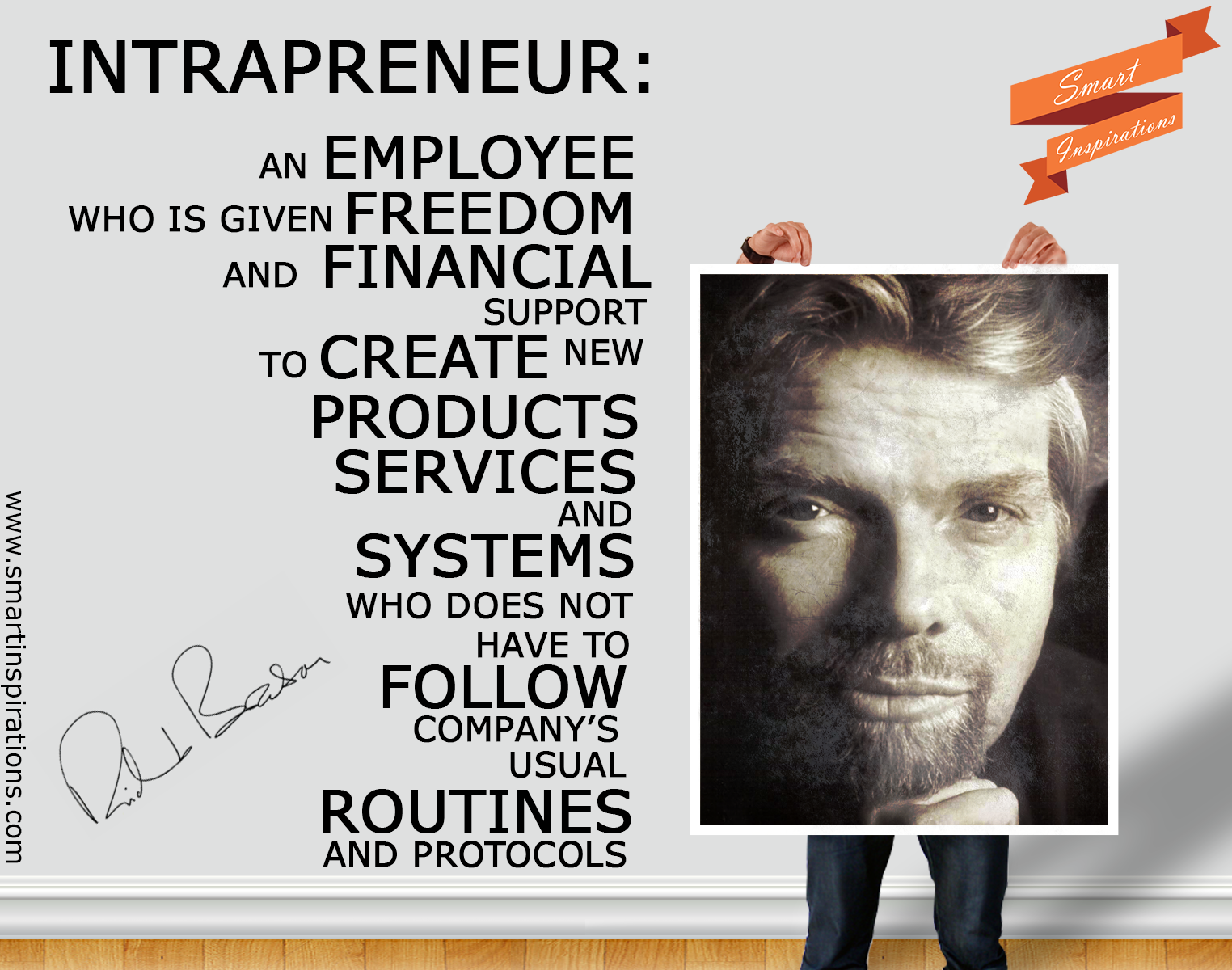 richard branson strategic leadership Branson hires bright people, gives them a stake in his ventures so that they are motivated to be even more successful and then delegates while his staff often takes care of the daily operations of a company, branson focuses his time more on the end user experience, doing publicity and promoting his products.