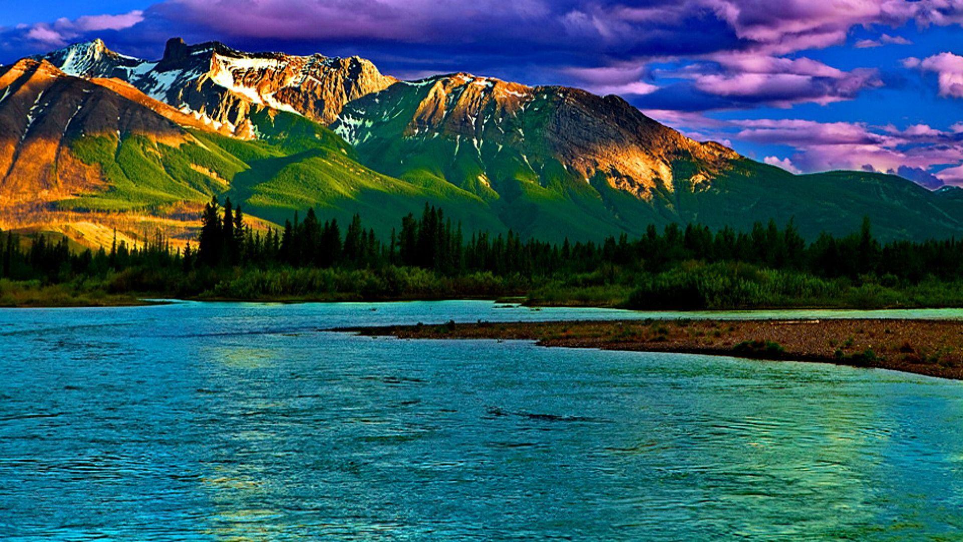 Fond Decran Paysage Montagne 2020 Cliquez Ici Collection D Images Fonds D Ecran Et Photos With Images Lake Landscape Mountain Landscape Landscape Wallpaper