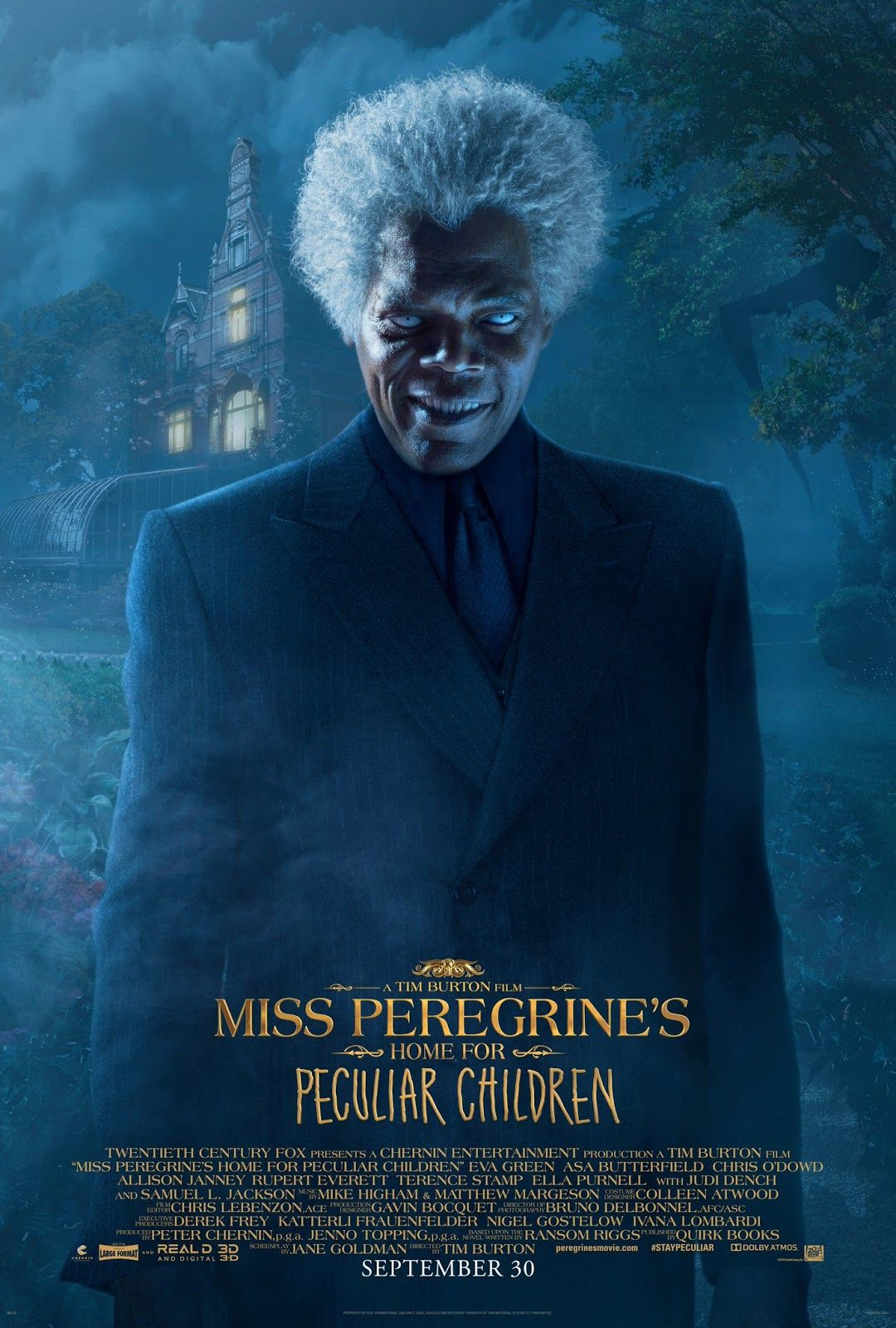 New Miss Peregrine S Home For Peculiar Children Trailer And 10 Posters Miss Peregrines Home For Peculiar Peculiar Children Movie Peculiar Children