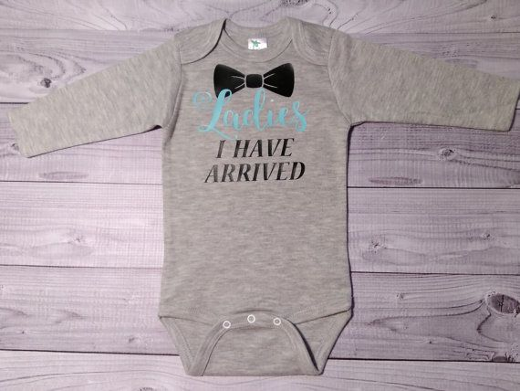 baby boy coming home outfit ladies I have arrived by SweetnSparkly
