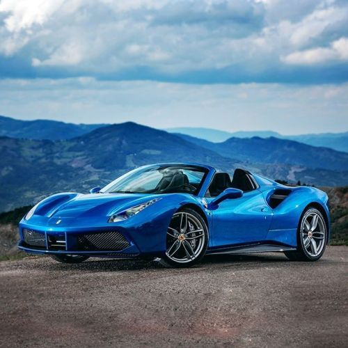 Overlooking A Wonderful Landscape Between Drives. #Ferrari