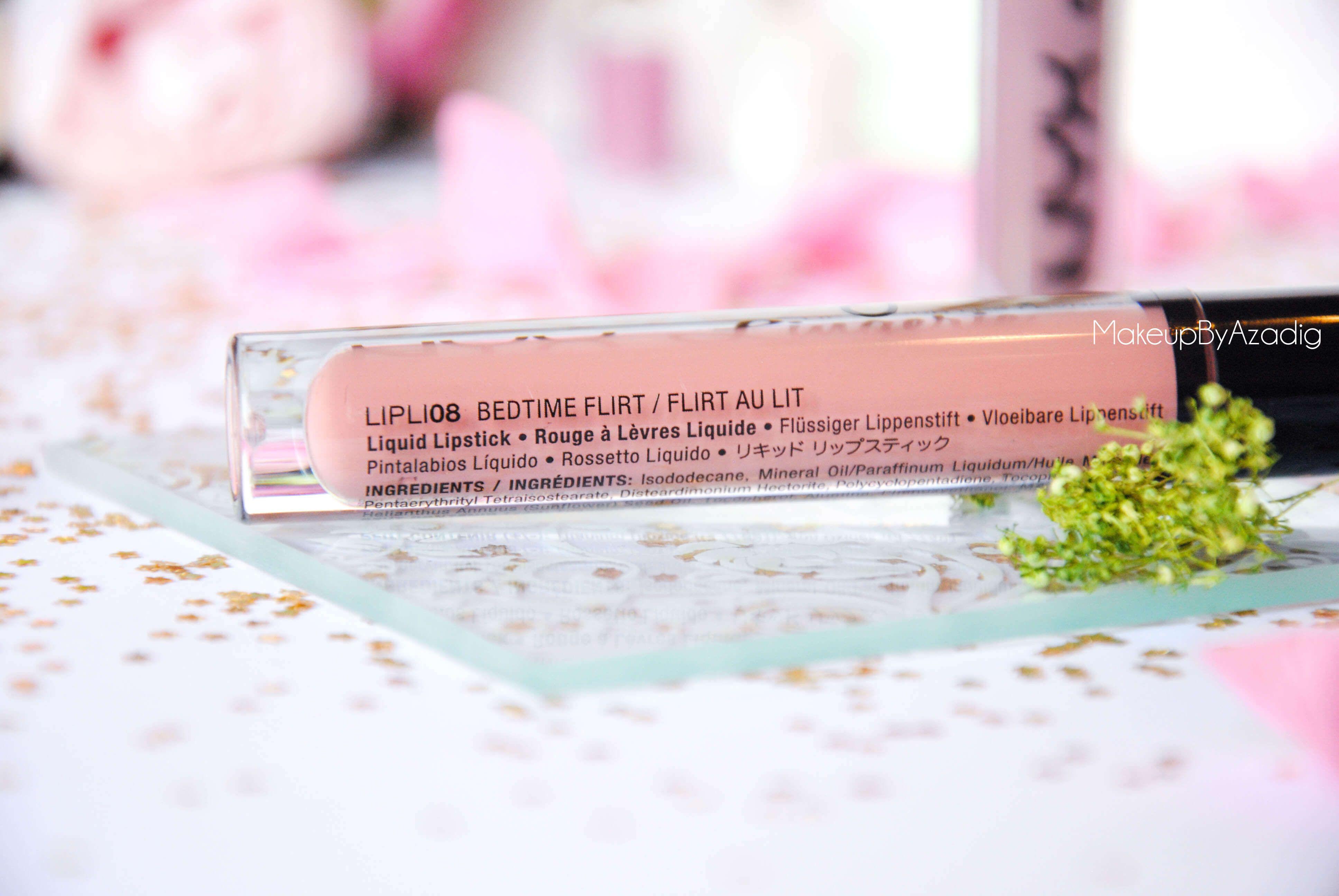lip lingerie - revue - swatch- nyx cosmetics - embellishment - bedtime flirt - makeupbyazadig - enjoyphoenix - troyes - 08