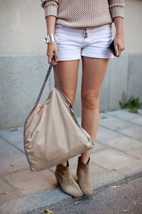 Lovely neutrals- Stella McCartney, Isabel Marant, and Hermes
