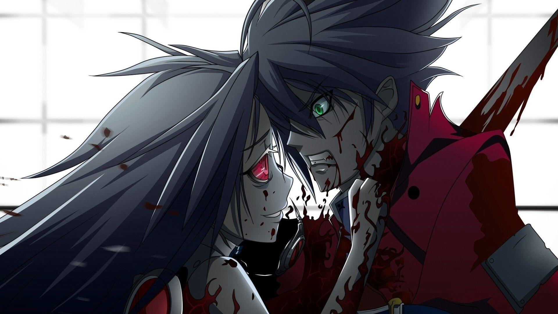 I love blood 00splatter anime blutige anime figur