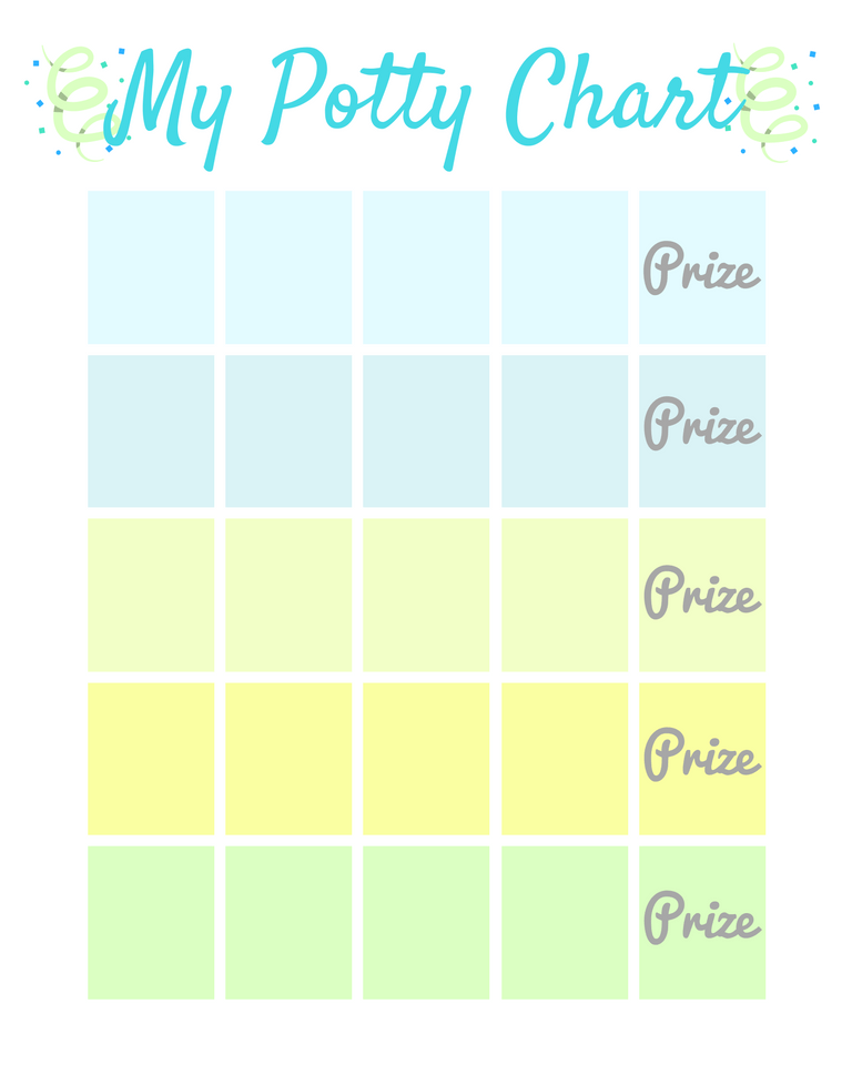My Potty Chart FREE Printable + The Secrets to Potty Training ...