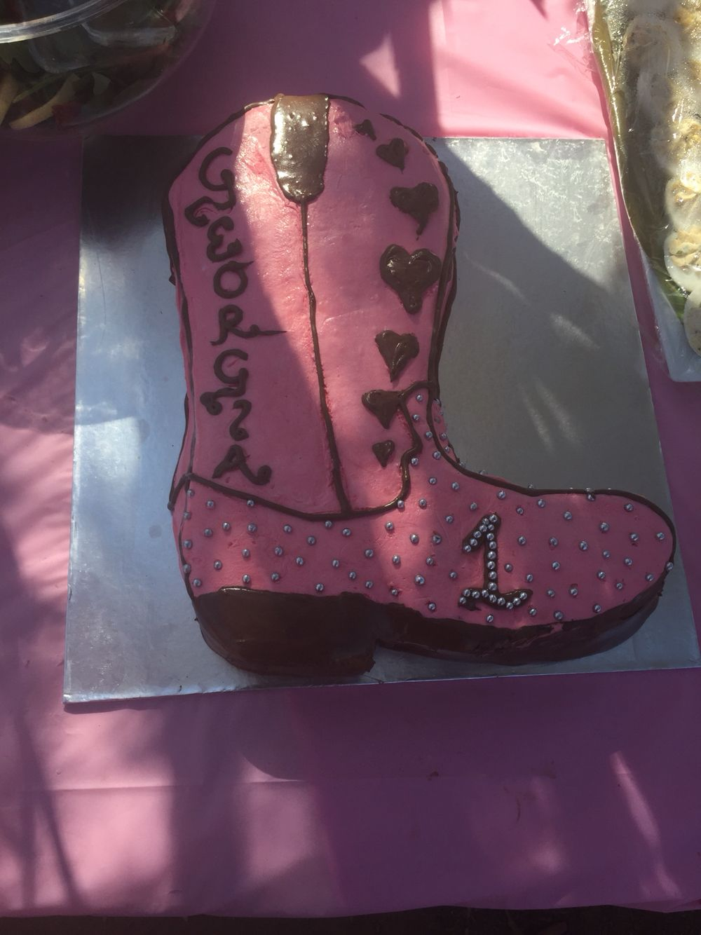 Cowgirl boot cake   Cowgirl Birthday   Pinterest   Cowgirl boot ...