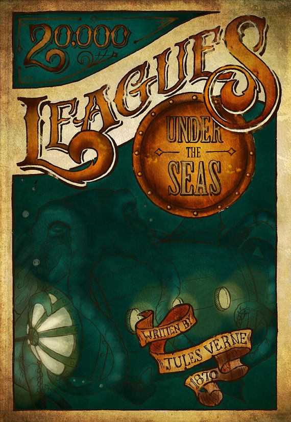 20 000 Leagues Under The Sea Leagues Under The Sea Jules Verne Under The Sea