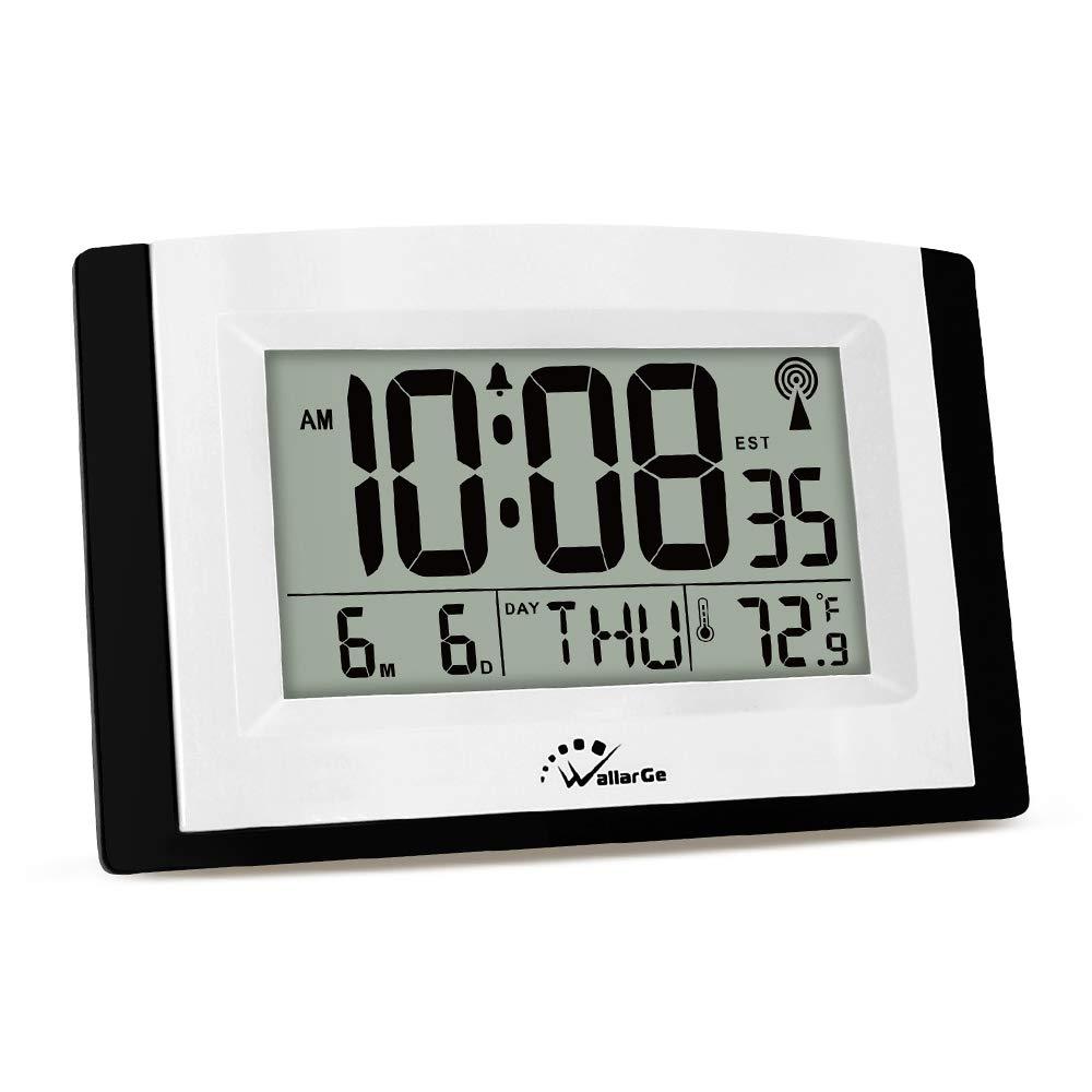 Wallarge Lcd Digital Wall Clock By Wallarge In 2020 Wall Clock Digital Large Digital Wall Clock Clock
