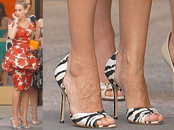 12 Carrie Bradshaw Shoes for Sarah Jessica Parker's SJP Shoe Line