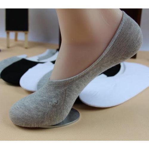 LADIES INVISIBLE TRAINER PUMPS LINER SOCKS NO SHOW DESIGN SECRET FOOTSIES ADULTS