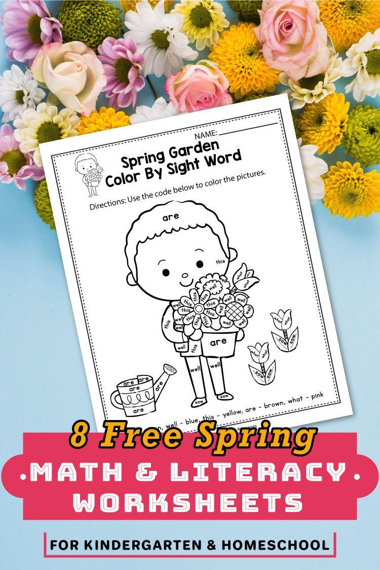 Free Spring Worksheets For Kindergarten Mothers Day Activities For Kindergarten In 2020 Kindergarten Worksheets Spring Math Kindergarten [ 1125 x 750 Pixel ]