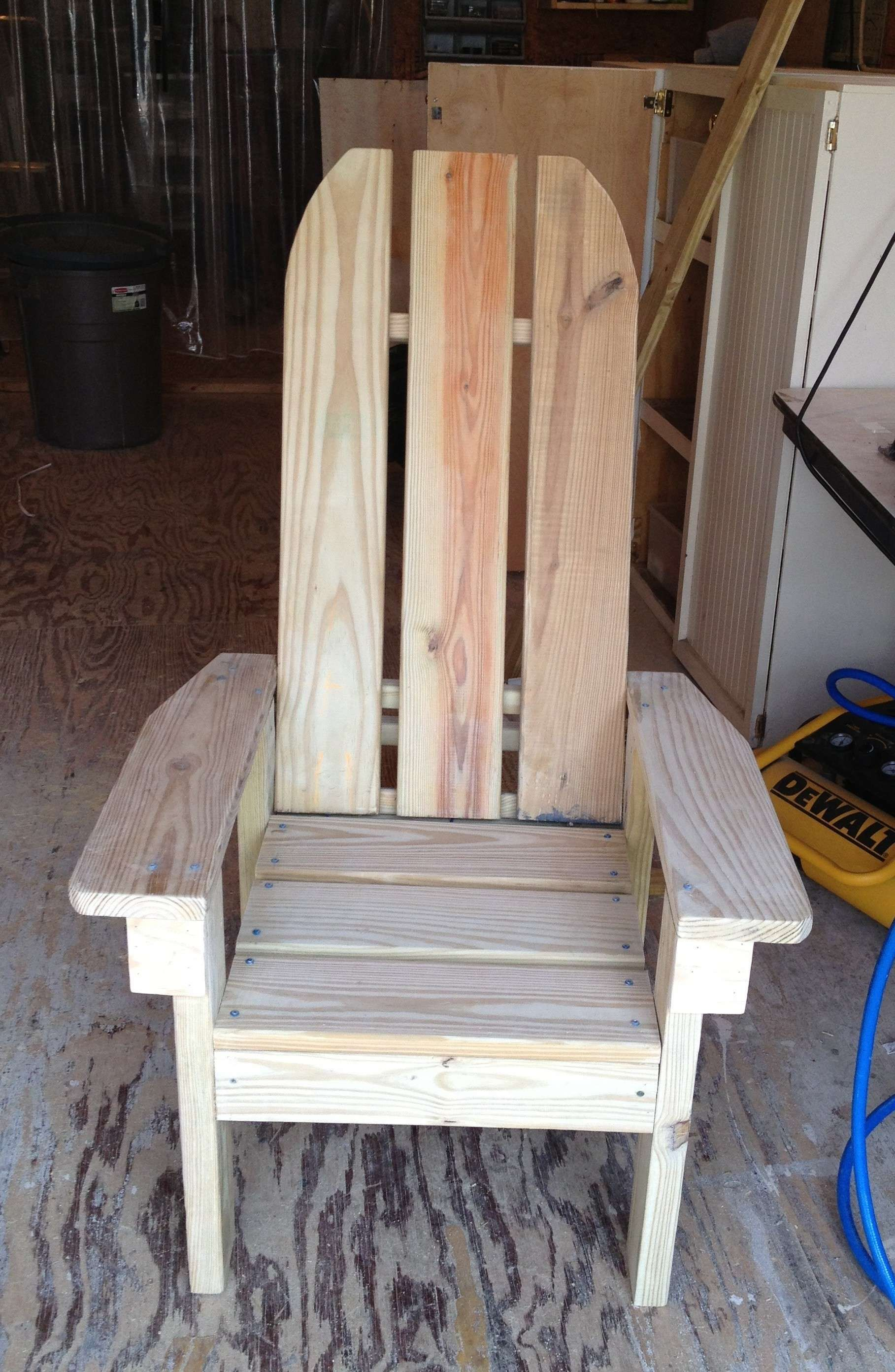Fresh 2x4 Adirondack Chair Plans (With images