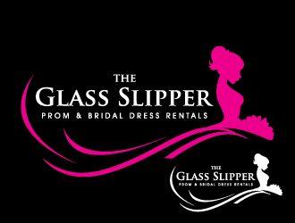 The Glass Slipper Prom Bridal Dress Rentals Logo Design Bridal Dress Rental Logo Design Dress Rental