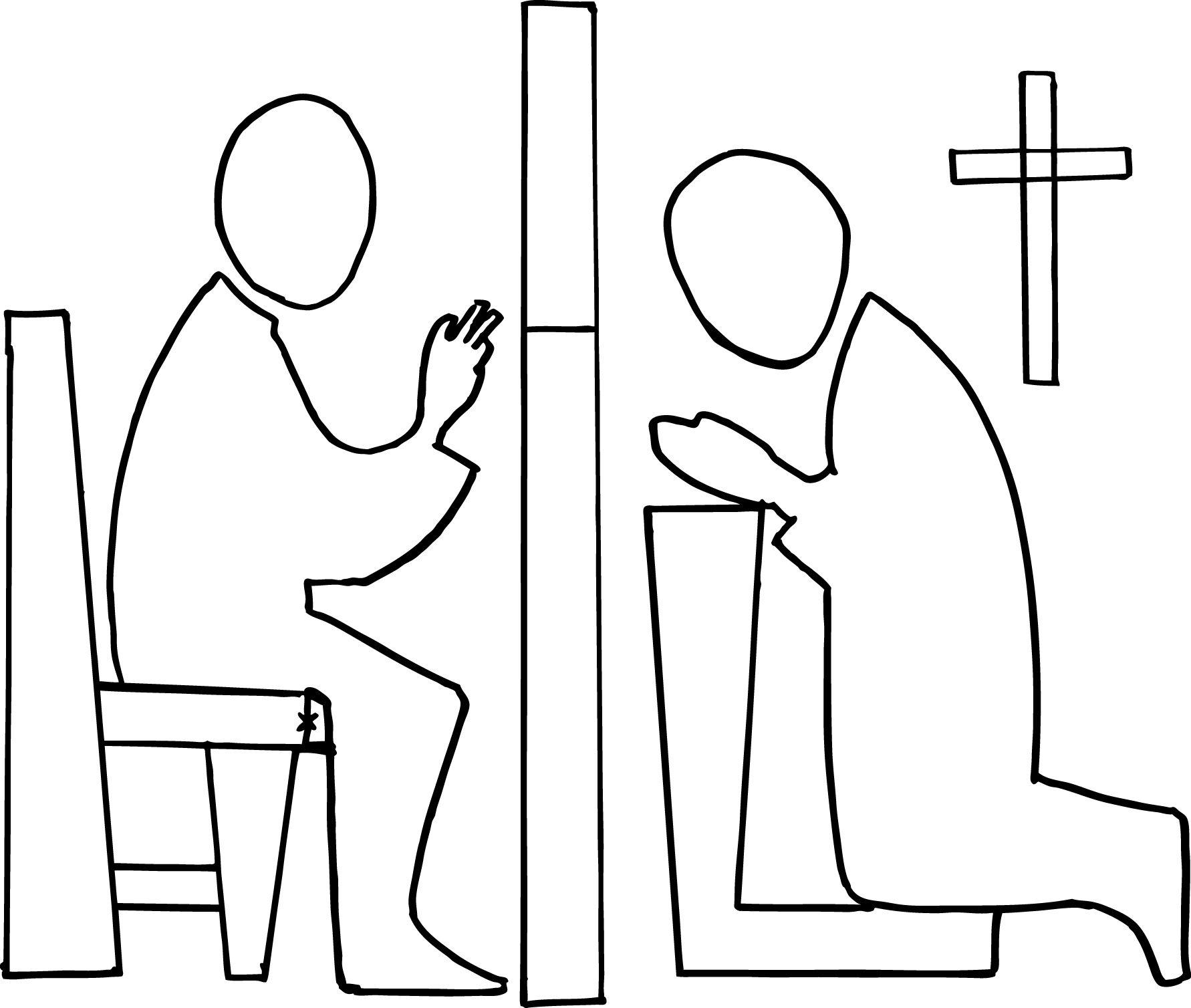 Catholic Reconciliation Clip In 2020 Catholic Confession
