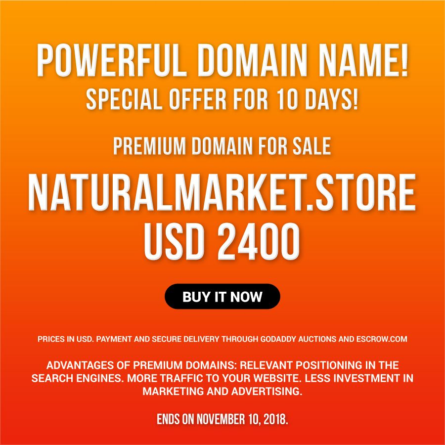 Spectacular name for markets that sell natural products