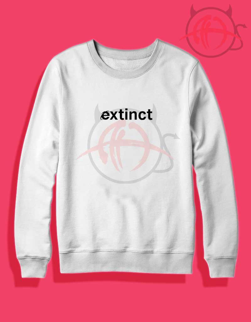 72e28bdf43db Extinct Tumblr Crewneck Sweatshirt