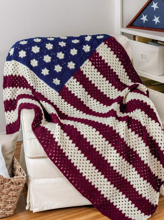 Crochet Patterns To Honor Veterans Pinterest Crochet Flags And