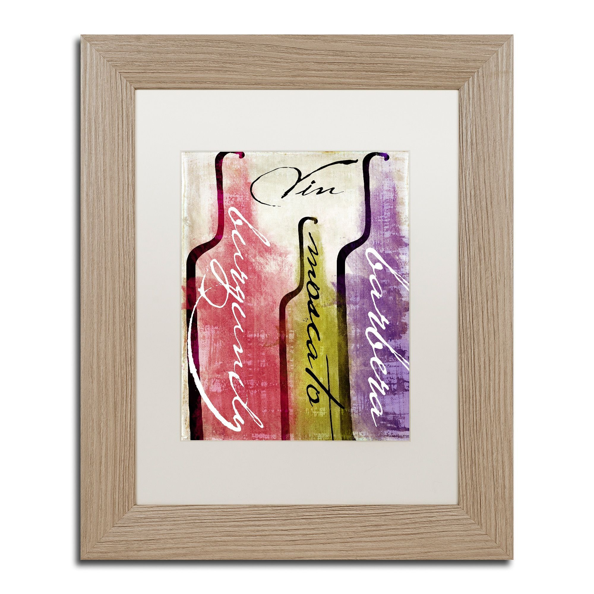 Color bakery uwine tasting iiu matted framed art products