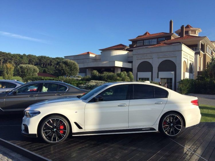 First Look At The 2017 Bmw 540i M Performance Parts Bmw 2017 Bmw Bmw Black