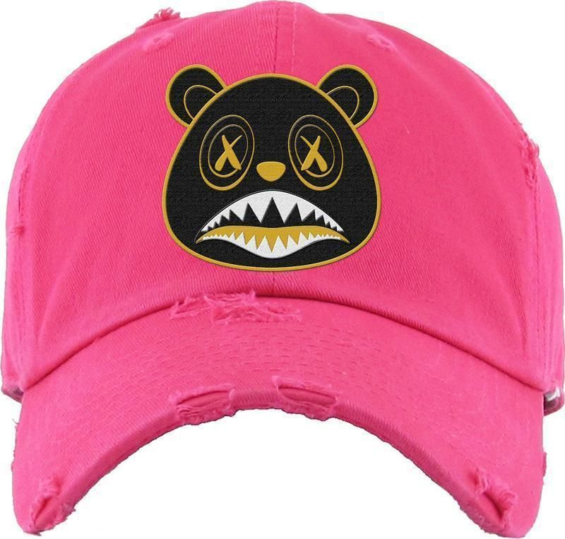 38ac3ab68f7 Blackout Gold Baws Hot Pink Dad Hat. Blackout Gold Baws Hot Pink Dad Hat  Jordans Sneakers