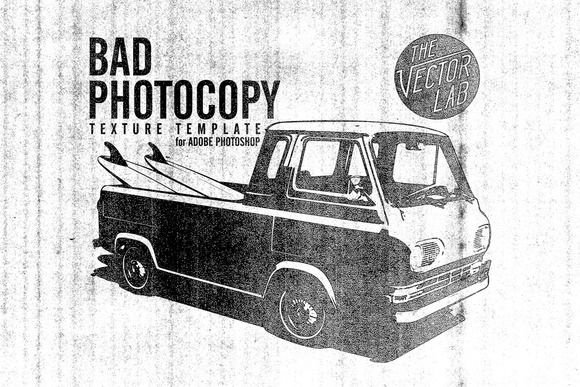 Check out Bad PhotoCopy Texture Template by TheVectorLab on Creative Market