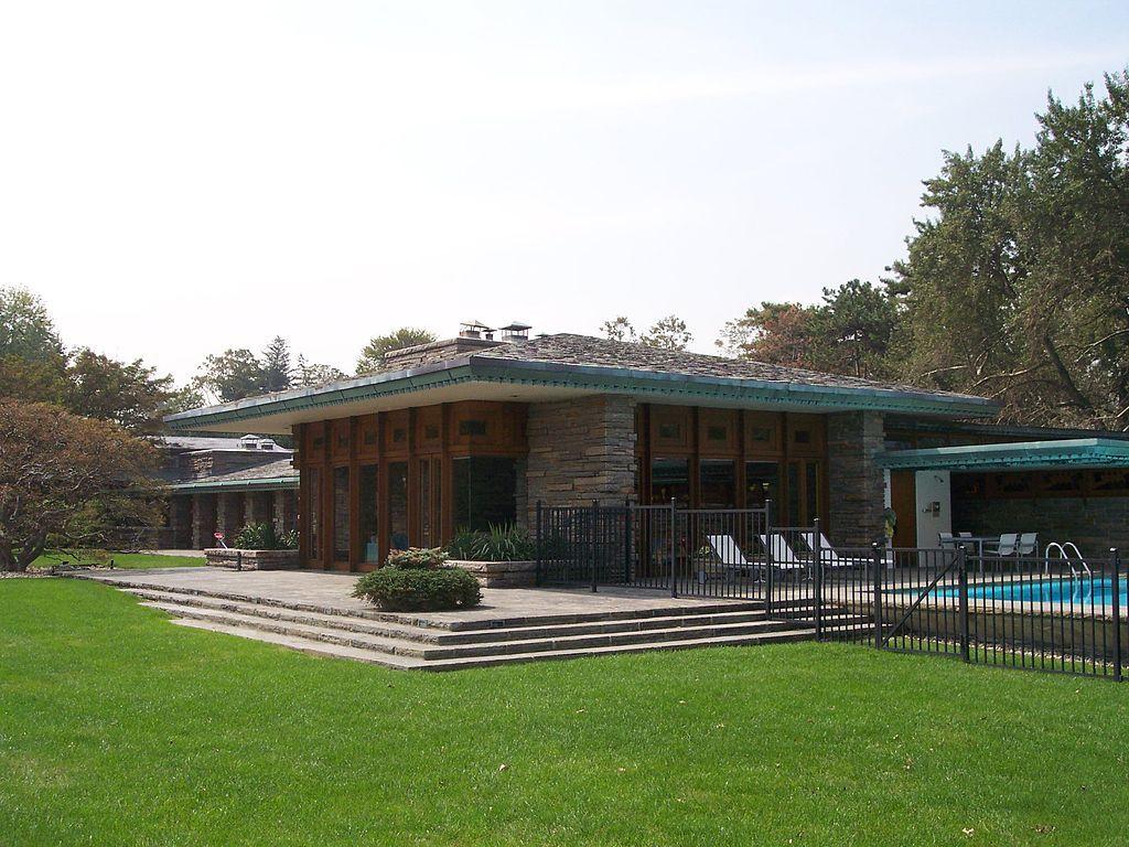 Max Hoffman House Frank Lloyd Wright Homes Frank Lloyd Wright Frank Lloyd Wright Design