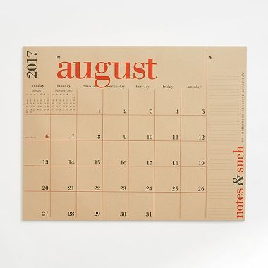 Our Best Selling Academic Calendar Features Bold Color Combined With Clean Style Printed On Oversized Sheets O Big Calendar Calendar Paper Source