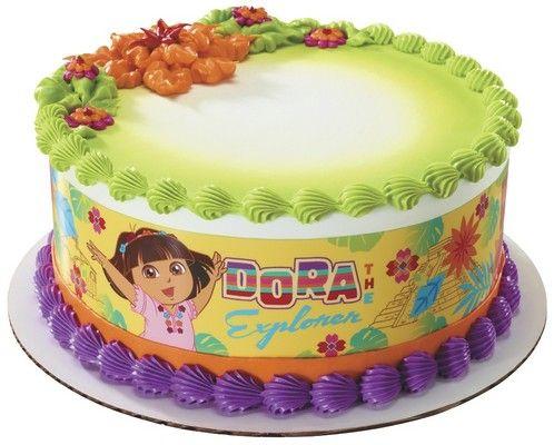 Fiesta Dress Dora the Explorer Petite Cake Topper Decopac