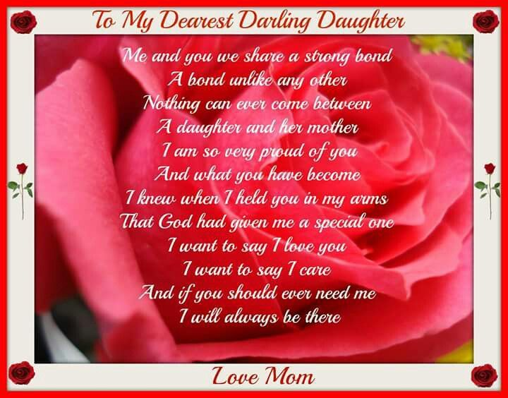 Daughters dear daughter daughter poems alluring quotes