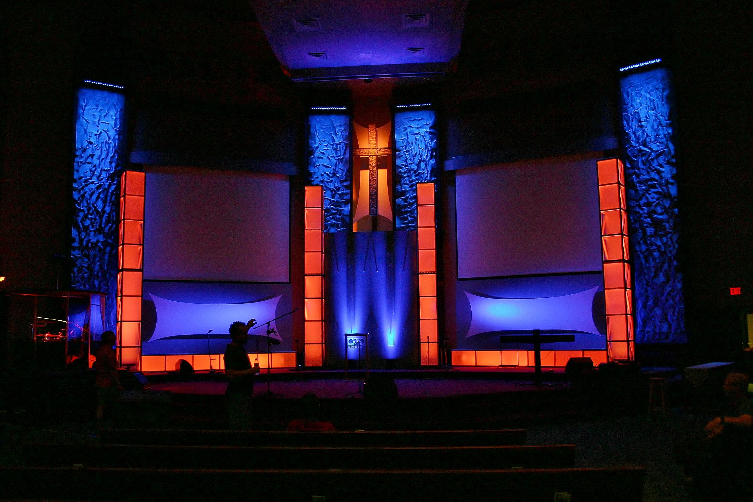 Wrinkles In Time | Church Stage Design Ideas