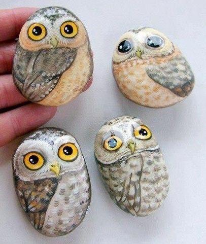 pedras pintadas e decoradas - Pesquisa Google