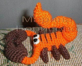 Cârlig Scorpion A Mini Crochet Crochet Patterns Crochet Animals