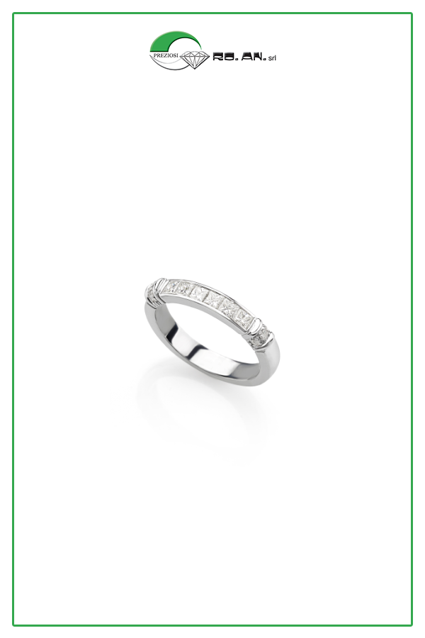 """dettagliare prodotti di qualità risparmi fantastici Anello in oro con diamanti """"princeps"""" e rotondi 💍 #RoanPreziosi ..."""