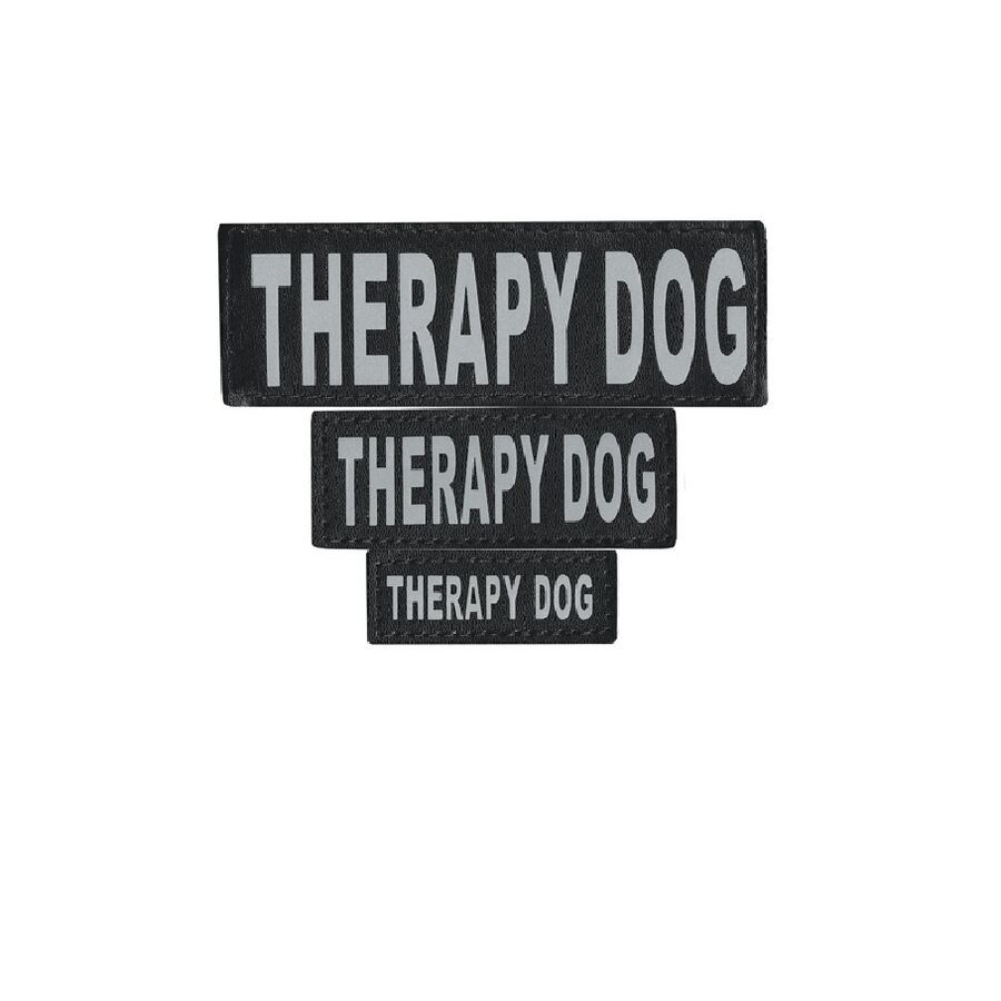 Removable Patch For Dog Harness Reflective Printed Letters