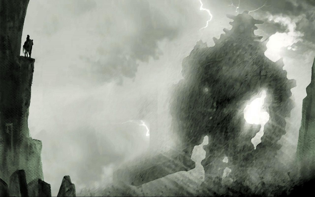 Desktop And Mobile Wallpaper Shadow Of The Colossus Mobile