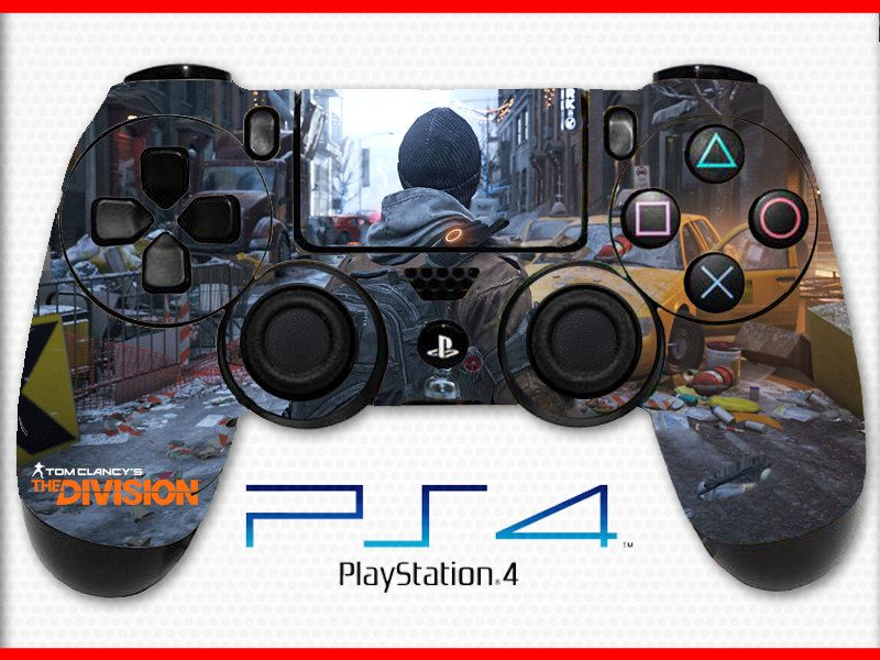 Tom Clancy's the Division Skin PS4 Controller Skin Sticker Playstation 4 Skin Tom Clancy Skin The Division Skin