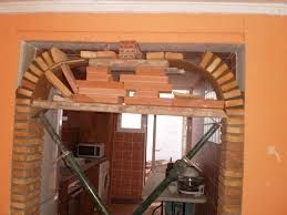 Resultado de imagen para construccion de arcos en ladrillo - Como hacer tabiques ...