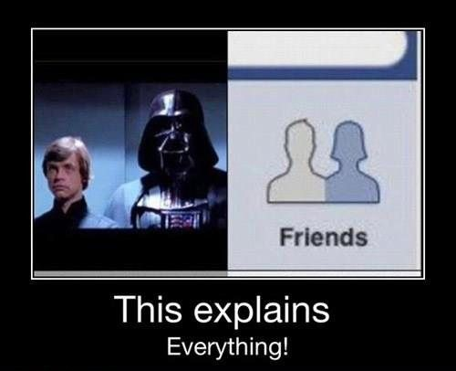 And This Shocking Realisation Star Wars Humor Star Wars Memes Star Wars Fans