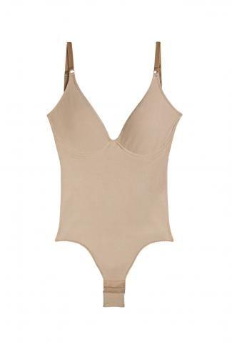 cosabella bodysuit nude