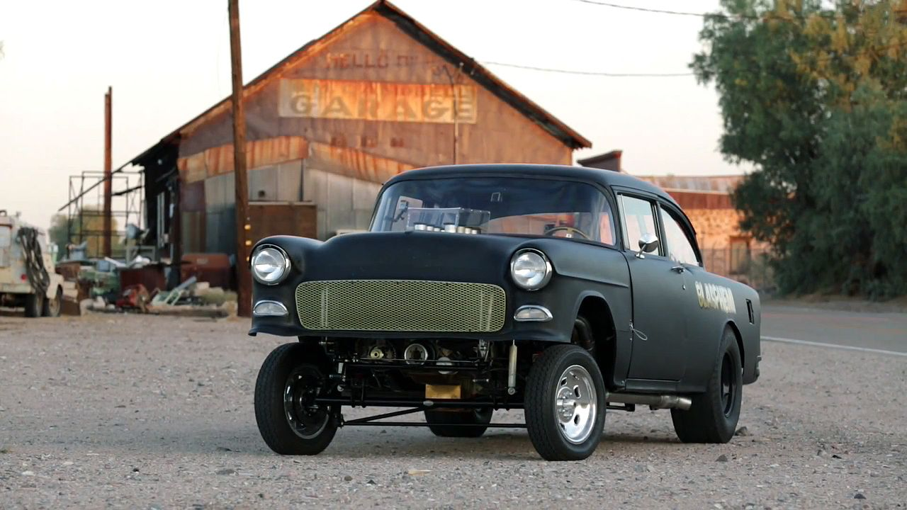 1955 chevrolet hot rod truck pictures to pin on pinterest - 1955 Chevrolet Bel Air Blasphemi Update Hot Rod Garage Episode 9