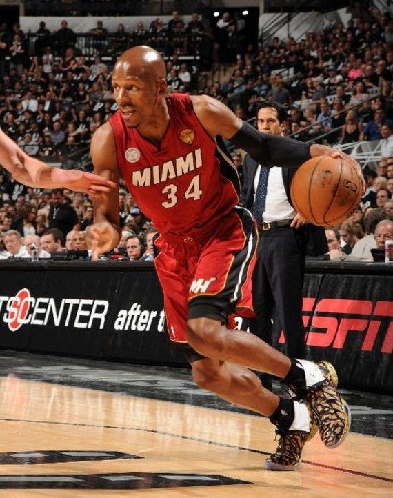 best sneakers dd25e 773b9 Ray Allen wearing #AirJordan XX8 PE for NBA Finals Game 3 ...