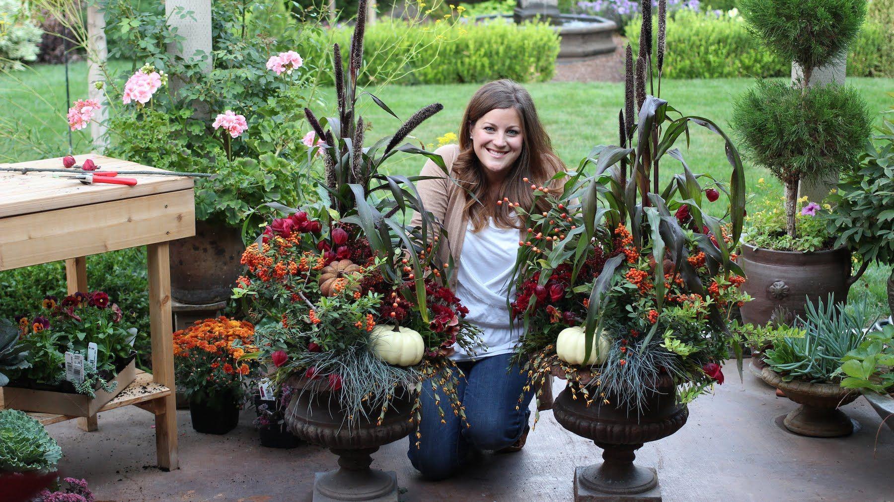 Fall Planters Https Www Youtube Com Gardenanswer Https Www