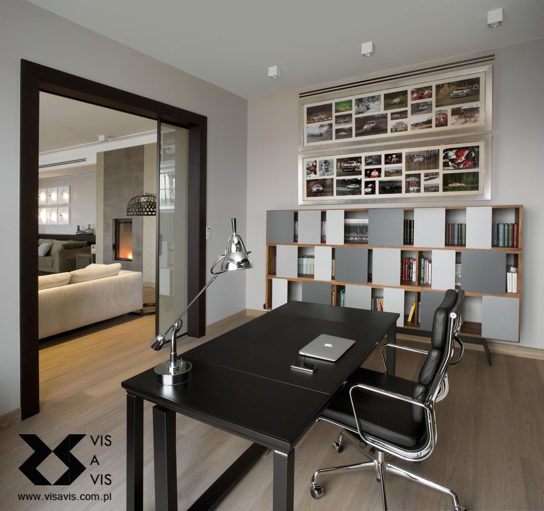 home office with autoban wall storage system. #autoban #posh