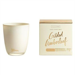Illume® Large Boxed Glass Candle - Gilded Amberleaf Want this for the holidays!