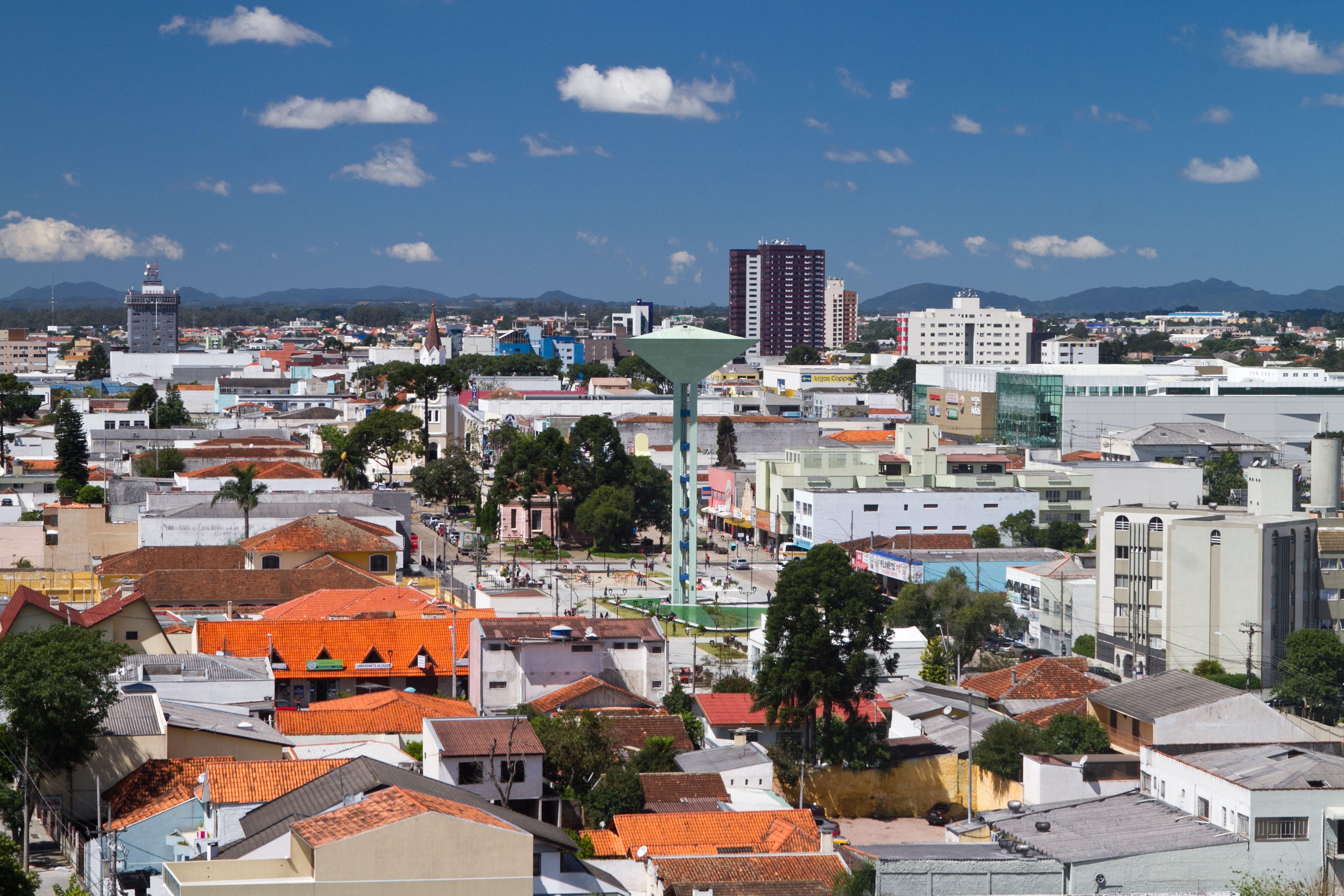 Sao Jose Dos Pinhais Parana Brasil Pop 292 934 2014