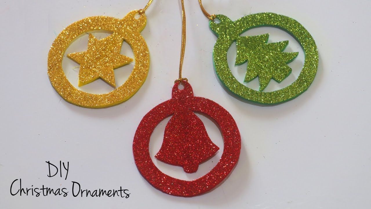 Diy Christmas Ornaments Christmas Tree Decorations Holiday Craft Ideas Youtube Diy Christmas Ornaments Christmas Gift Tags Diy Christmas Ornaments