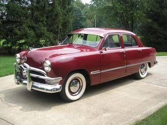 1950 Ford Custom Sedan   Cars   Pontiac cars, Ford, Ford lincoln mercury